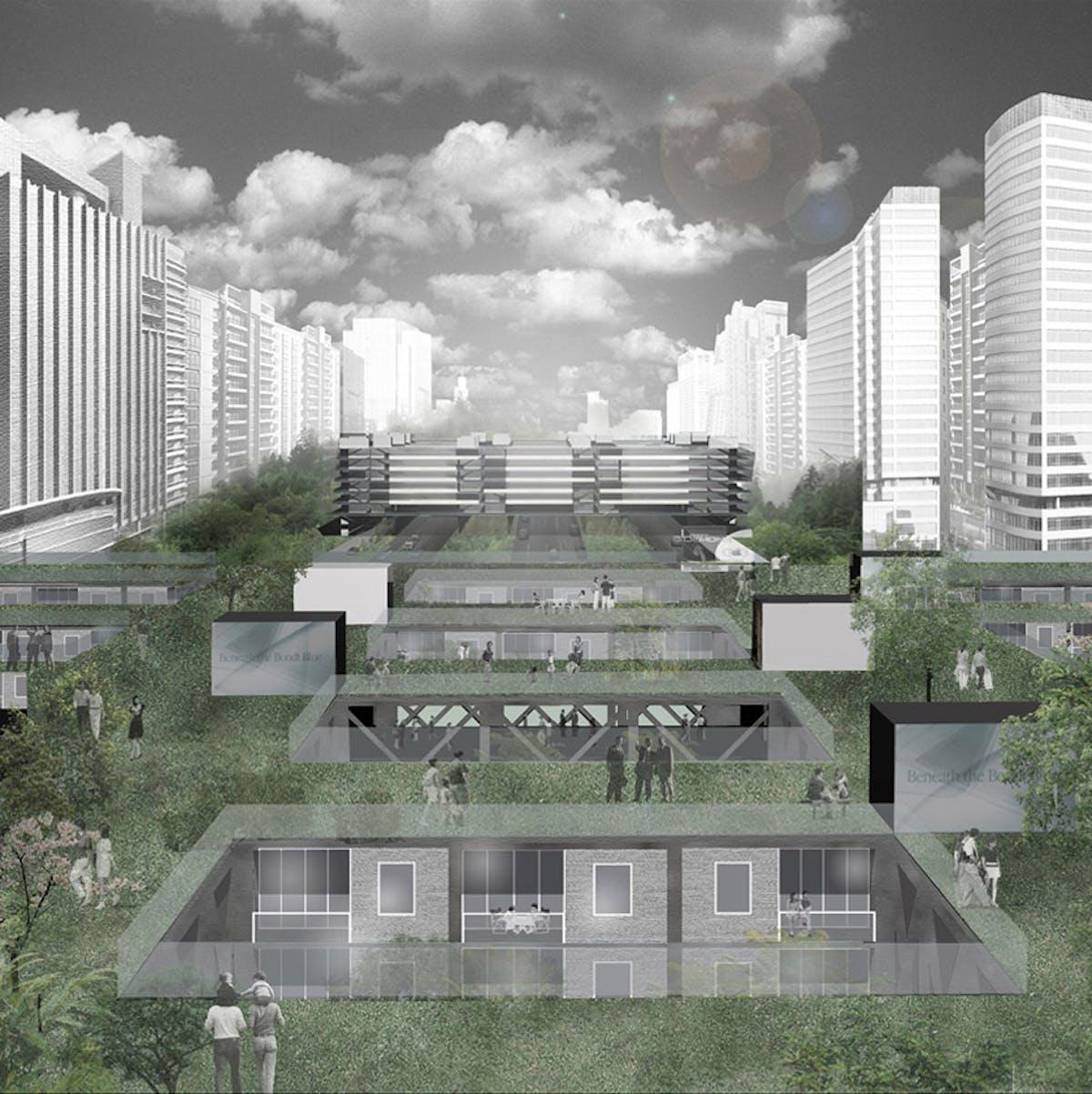 Bridge Urban Life Typology By Fangcheng Architects