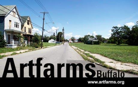 ARTFARMS Buffalo project website is LIVE! http://www.artfarms.org