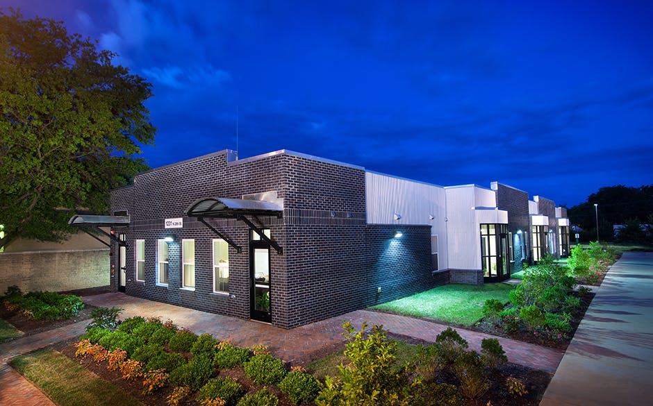Baskervill designs net zero energy housing for historic for Affordable motors richmond va