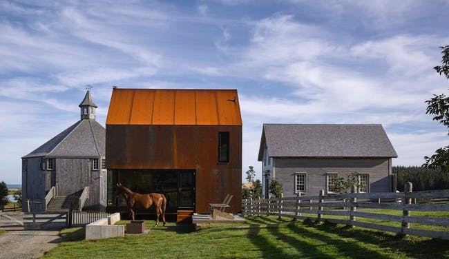 Best Concept Prototype - MacKay-Lyons Sweetapple Architects: Enough House. Photo credit: Azure