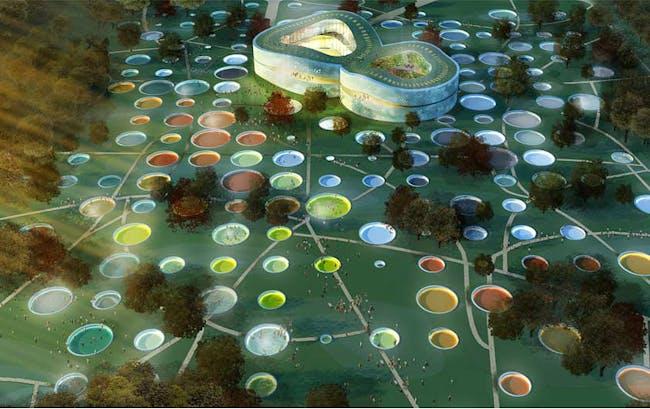 Visualization, garden