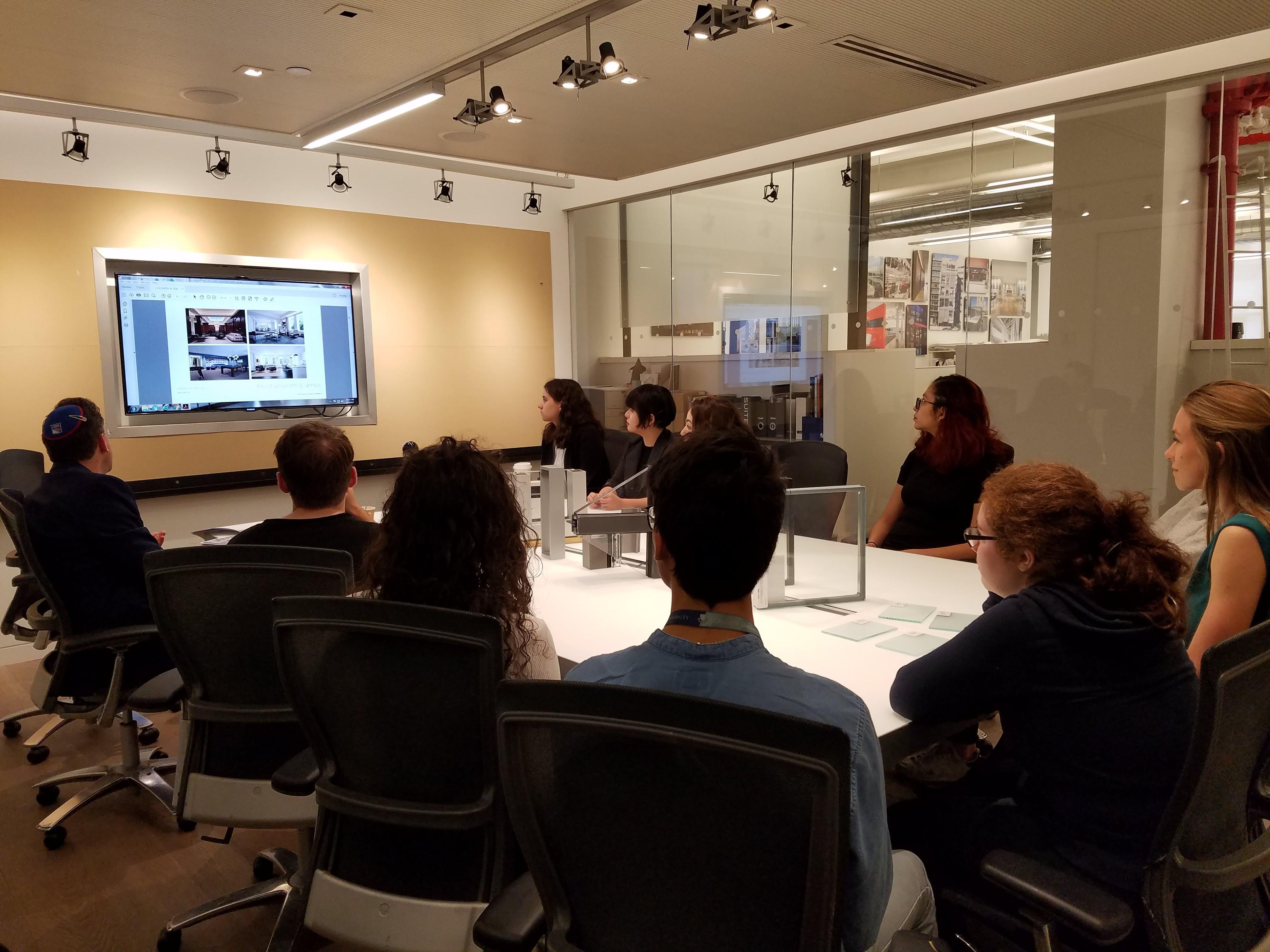 MADGI Hosts Undergraduate Architecture Interior Design Students
