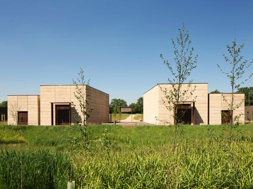 Religion - Completed Buildings Winner: Waugh Thistleton Architects, Bushey Cemetery, Bushey, United Kingdom.