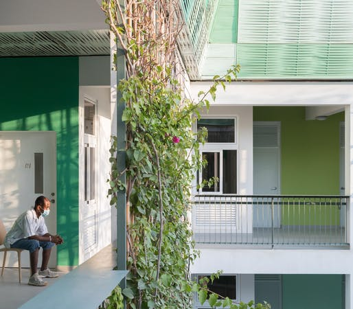 Architecture Can Heal: Adapting Healthcare Spaces in Response to COVID-19