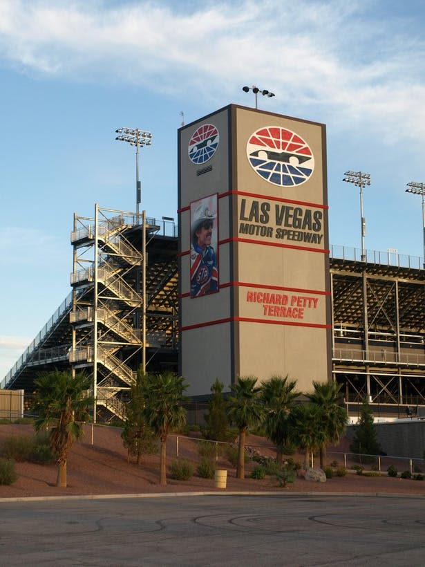 Las Vegas Motor Speedway - Richard Petty Terrace