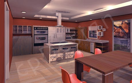 Working on a kitchen design..