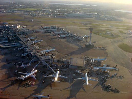 Heathrow Airport is Europe's busiest airport. It's badly in need of an expansion. Image via wikimedia.org