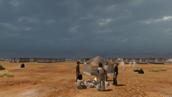Another still from 'Project Syria.' Credit: Emblematic Group