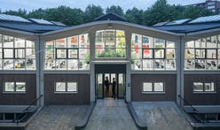 Inside the MVRDV House, the firm's new family home-style office