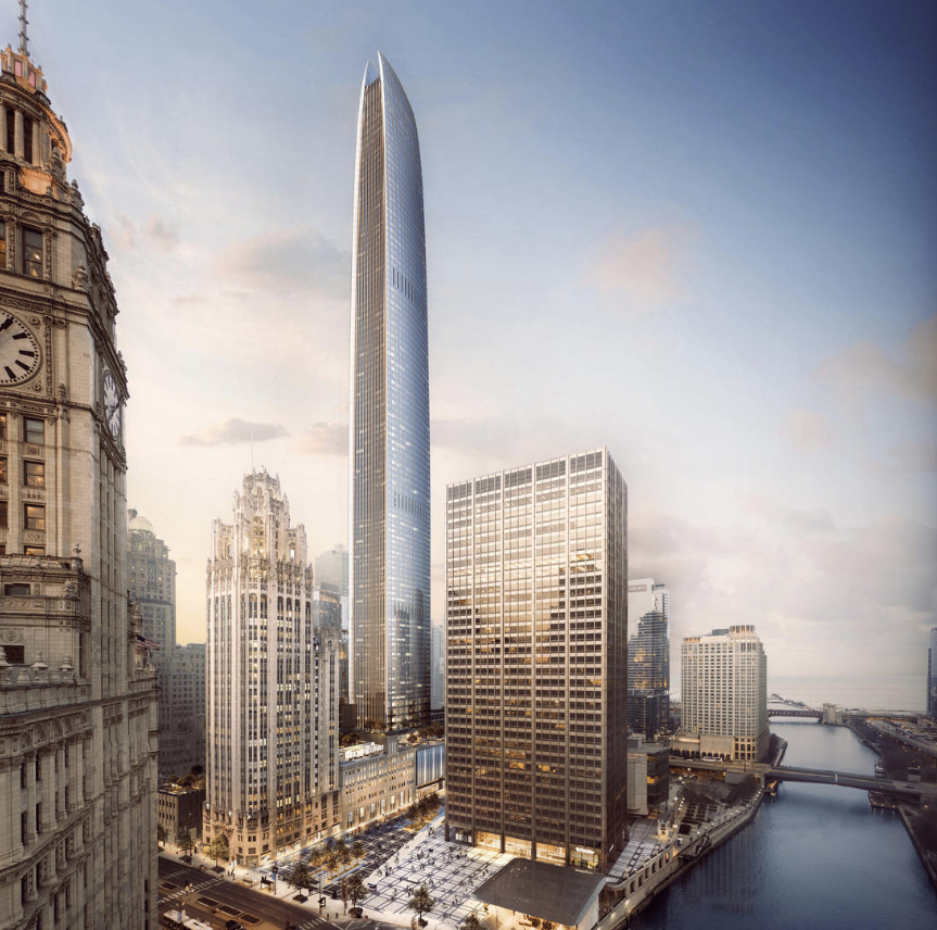 Tribune Tower Redevelopment Proposal Unveiled