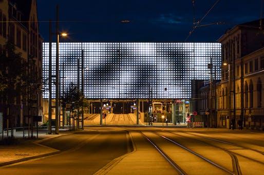 Transport - Completed Buildings Winner: Grüntuch Ernst Architects, Transformation Chemnitz Central Station, Chemnitz, Germany.