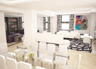 Interior Designing and Rendering of an Apartment in Broadway, NY
