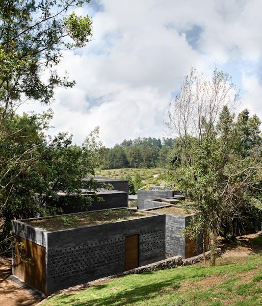 Commended: Casa Bruma in Valle de Bravo, Mexico by Fernanda Canales & Claudia Rodríguez. Photo: Rafael Gamo.