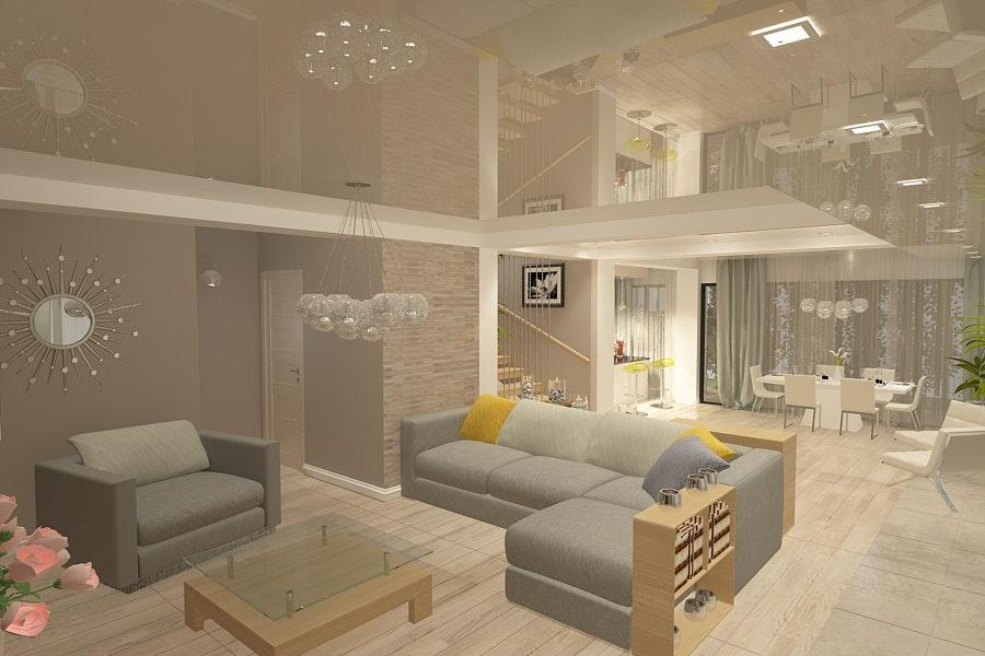 design interior living casa moderna amenajari interioare case la cheie rh archinect com