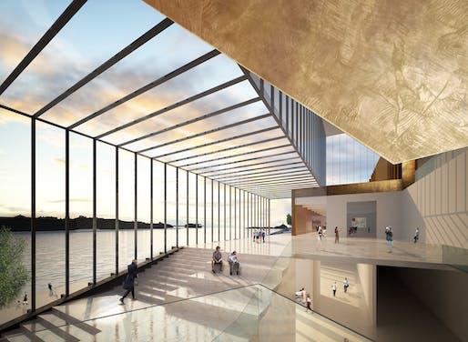 Guggenheim Helsinki competition rendering by DXA Studio. Image: DXA Studio.