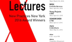 Get Lectured: AIANY New Practices New York 2016