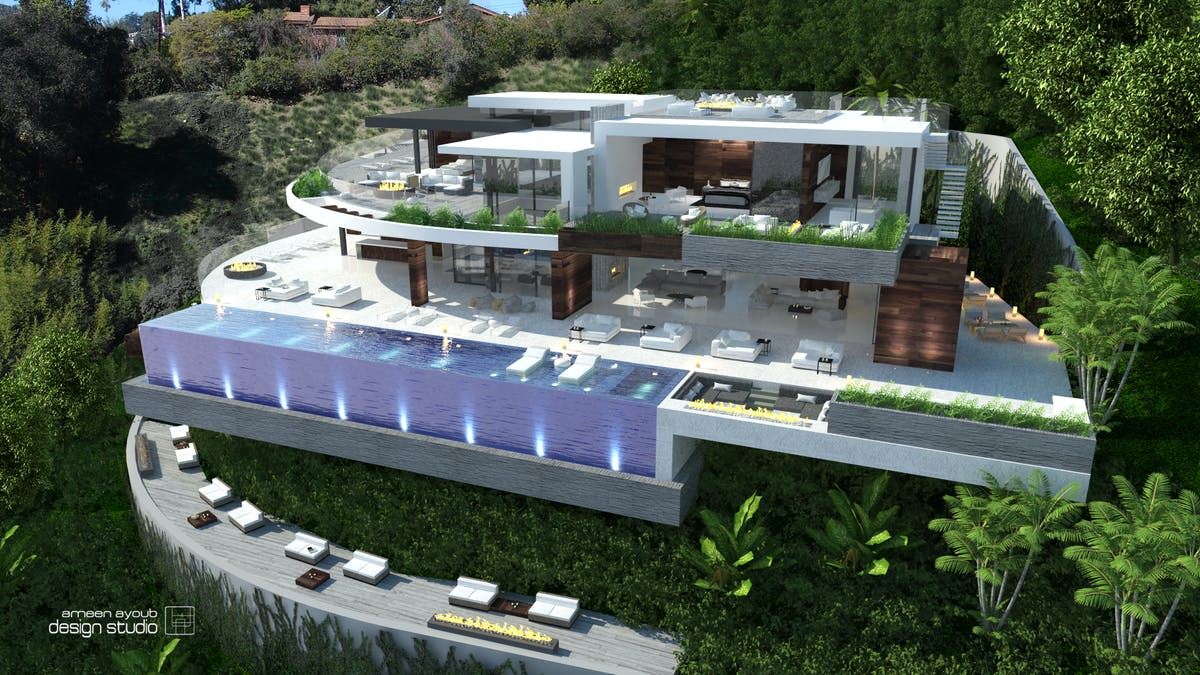 1300 Beverly Estates Residence Ameen Ayoub Archinect