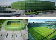 The new stadium of Ferencváros