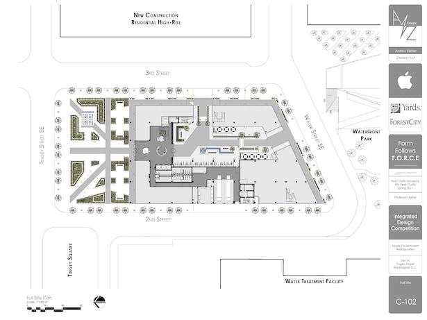Site Plan w/ First Floor