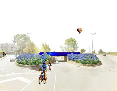 VIBO VALENTIA | an urban design project for the International competition'Riqualificazione urbana delle aree di accesso alla Citta' di Vibo Valentia' in Vibo Valentia, Italy; Special Mention.
