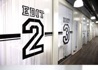 Wall/sign design Sport broadcasting company