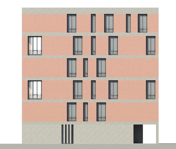 facade north