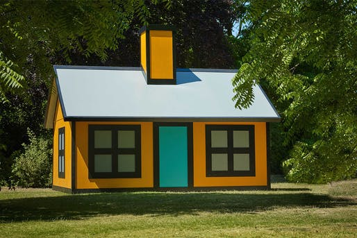 Richard Woods, 'Holiday Home (Regent's Park)', 2018, Alan Cristea, London. Photo by Stephen White. Courtesy of Stephen White/Frieze.