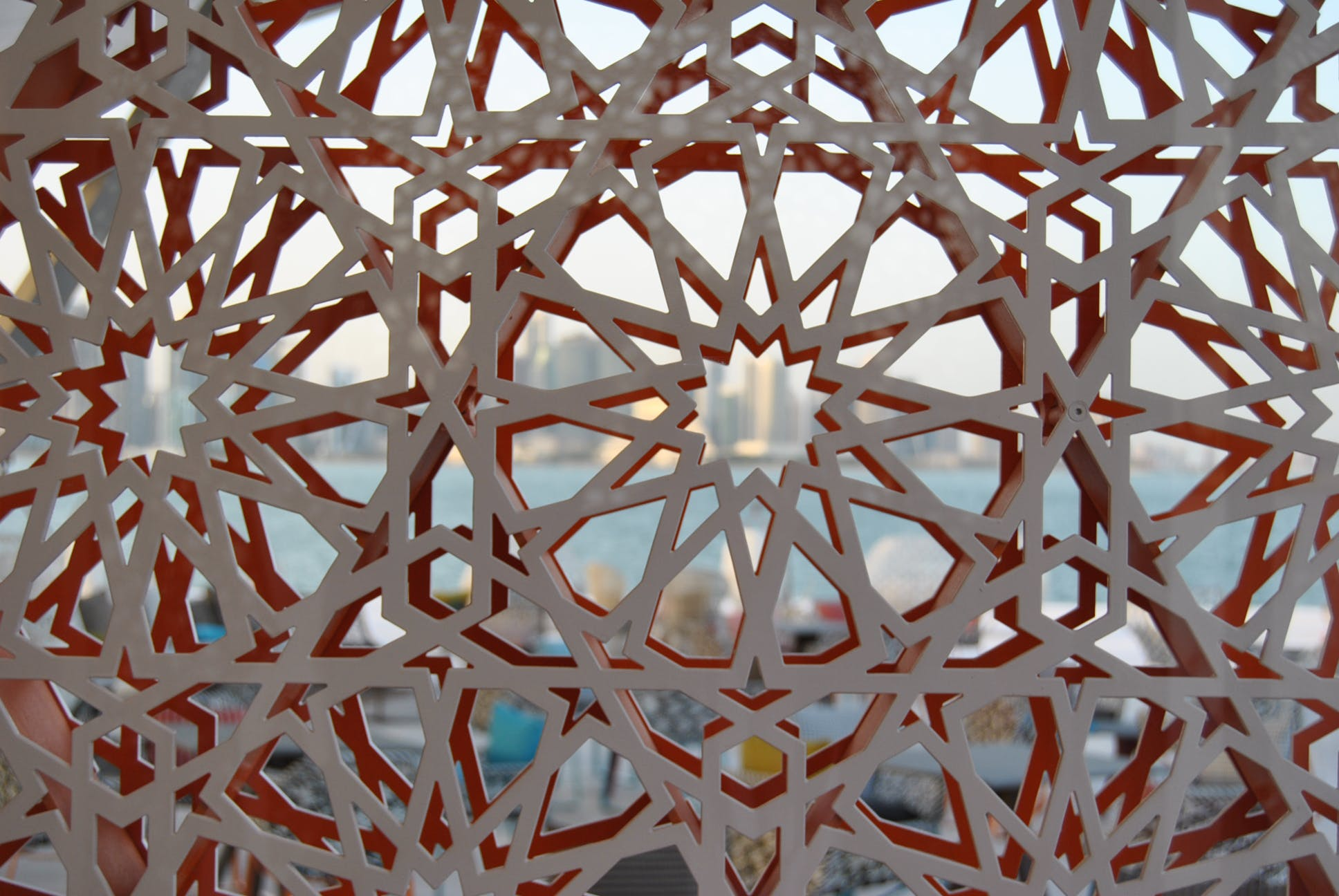 Museum of Islamic Art Park   Design and build   Kiosks and