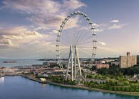 THE NEW YORK WHEEL. STATEN ISLAND