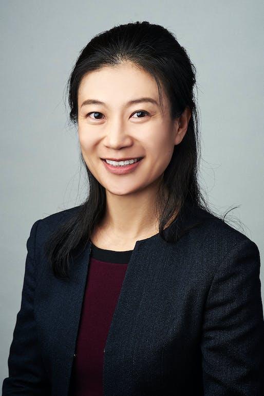 Lingqian Hu, new chair of UWM Department of Urban Planning. Image: Lingqian Hu.