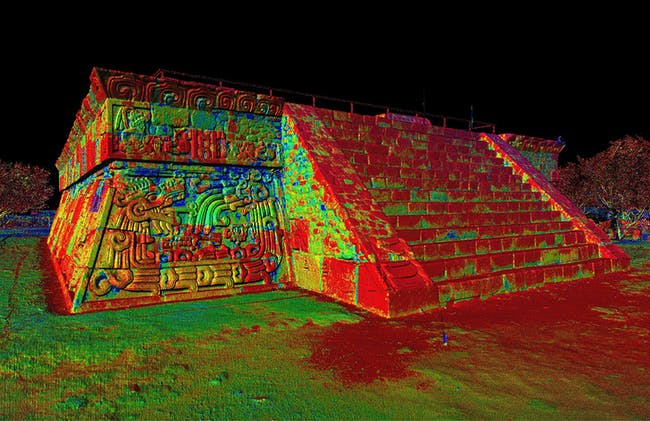 Xochicalco: one of the 500 digitally preserved cultural sites. Image courtesy of CyArk.