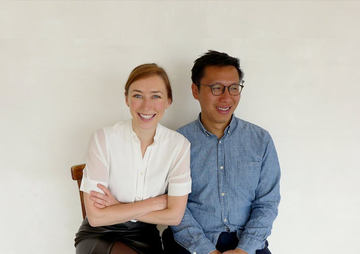 Founders Alison Von Glinow (left) and Lap Chi Kwong (right).