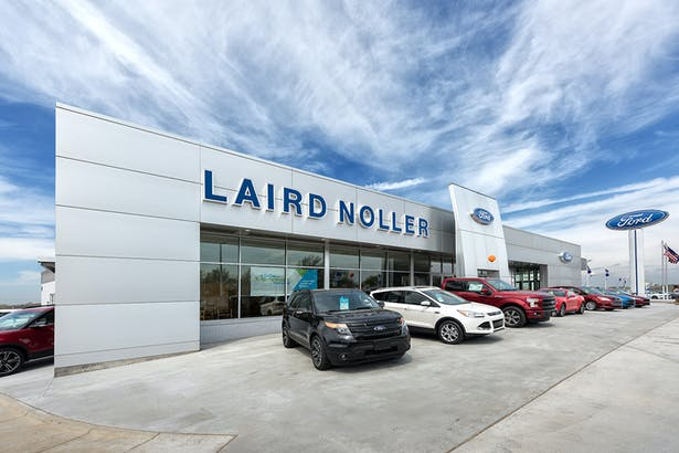 Laird Noller Ford Dealership Addition Renovation Sean Page