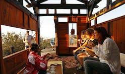 A guerilla teahouse pops up in LA's Griffith Park