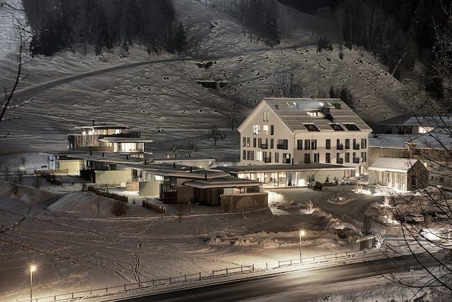 Hotel Wiesergut extension Photo Mario Webhofer W9 Werbeagentur, Innsbruck