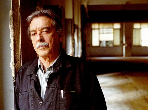 2016 Golden Lion recipient: Paulo Mendes da Rocha.