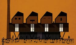 """Archimusic"" renders famous musicians into characteristic buildings"