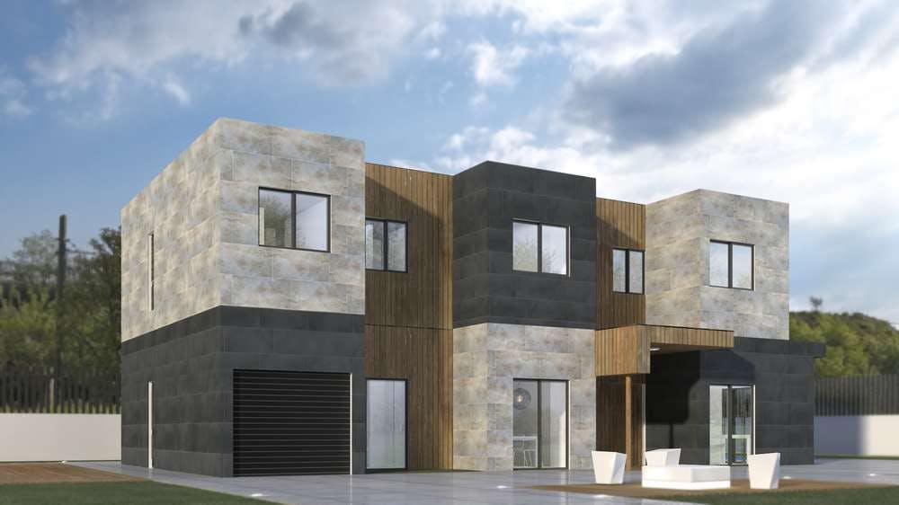 Casas prefabricadas modernas modelo 6a miguel martinez for Casas prefabricadas modernas