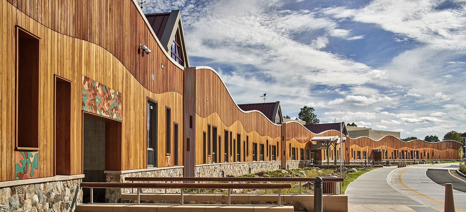 The new Sandy Hook school by Svigals+Partners