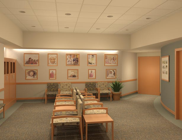 Cancer Center Waiting Room