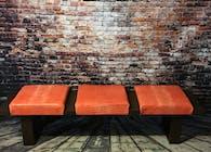 Orange Croc Bench