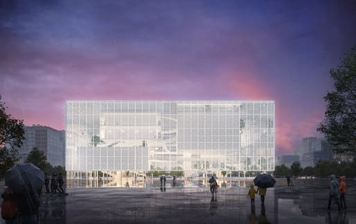 Image: Sou Fujimoto Architects & Donghua Chen Studio