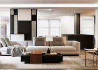 Apartment T - 3d rendering