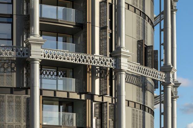Exterior Facade Details © Peter Landers