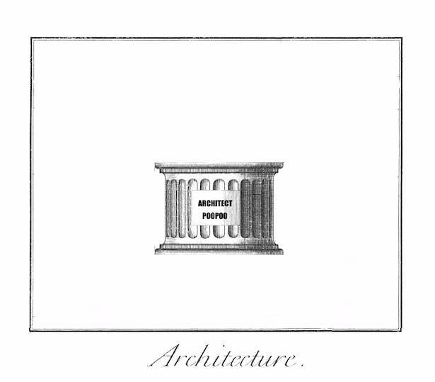 architect's poopoo