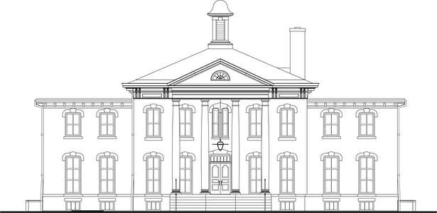 Wilder Mansion - Original 1930's East Facade