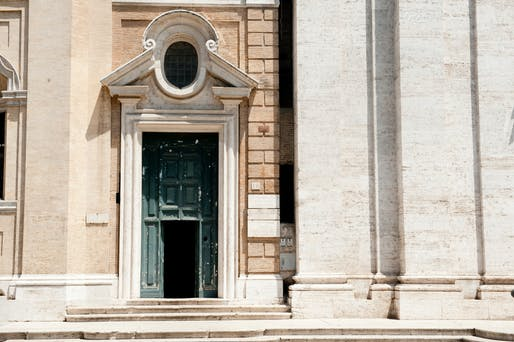 The exterior of the Biblioteca Vallicelliana in Rome. Credit Susan Wright for The New York Times.j