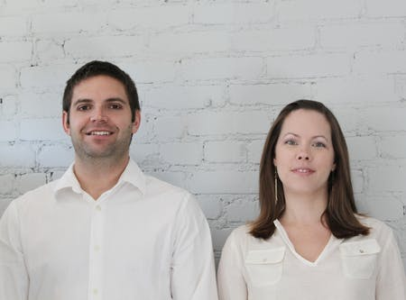 Founders Andrew Batay-Csorba (left) and Jodi Batay-Csorba (right)