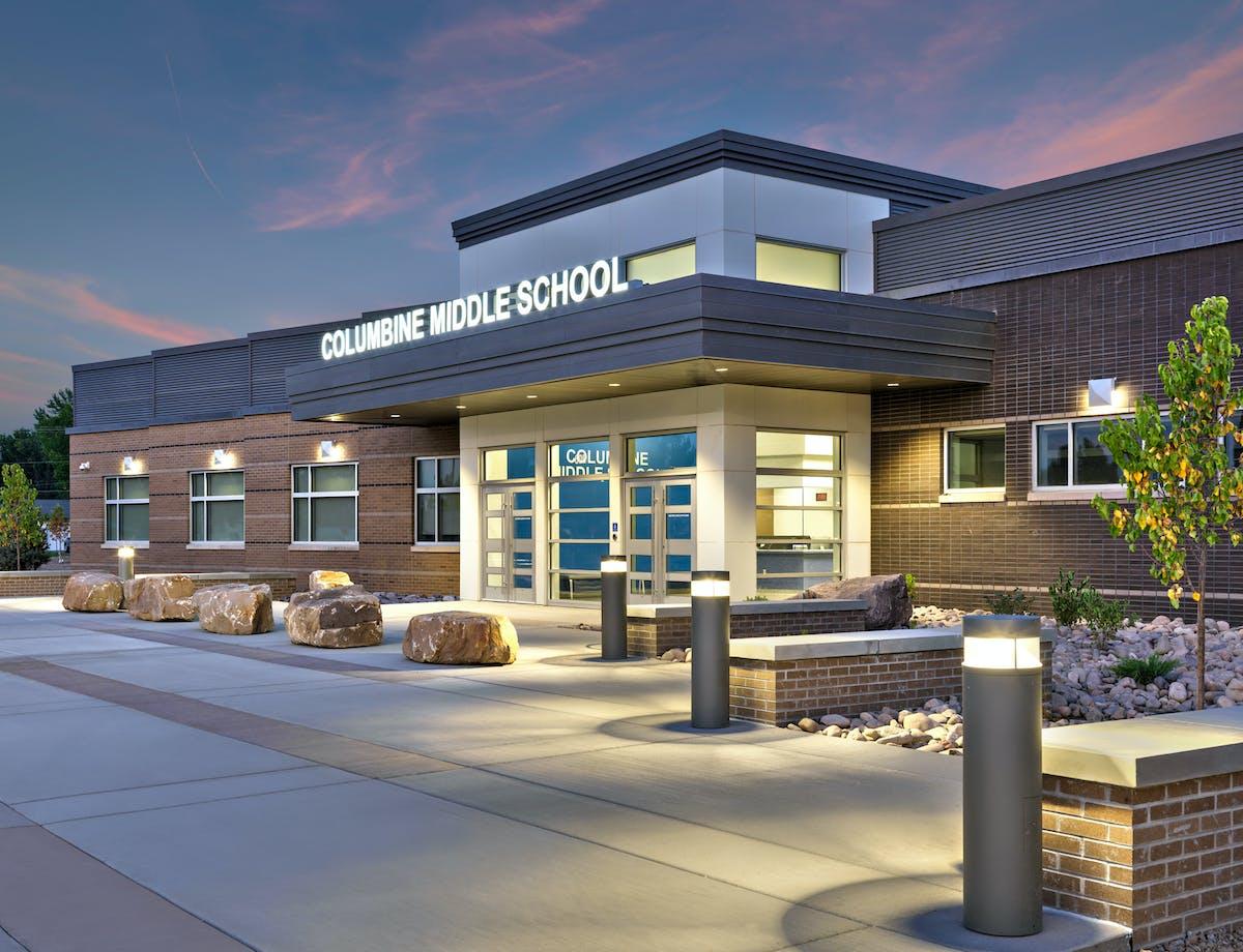 Columbine Middle School   BG+co   Archinect