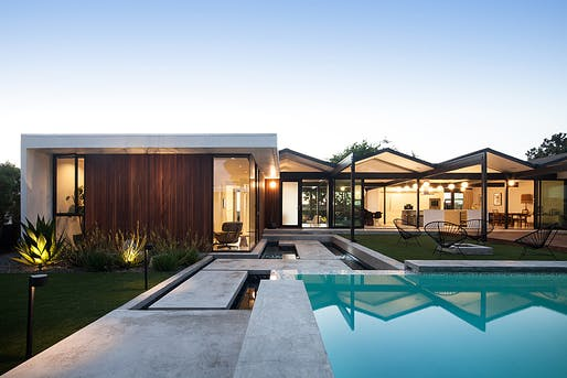 Henbest House by ras-a studio, located in Rancho Palos Verdes, CA. Image: Chang Kyun Kim.